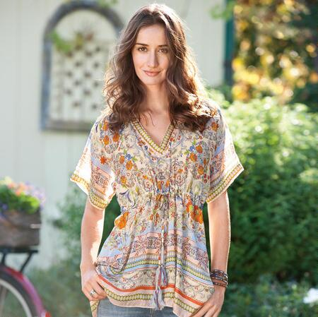JULIA SILK TUNIC