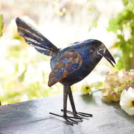 A lovely, whimsical piece of bird décor that will always inspire a smile.