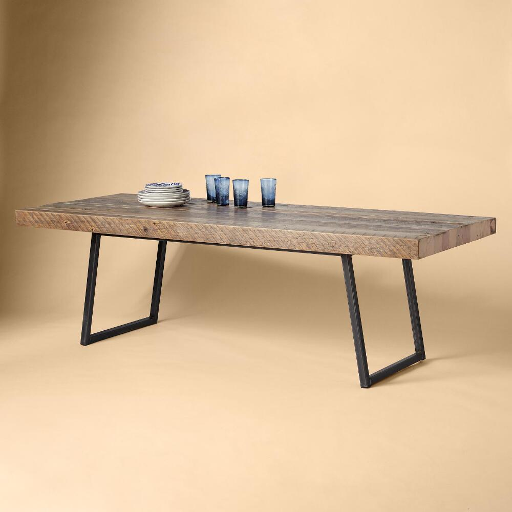 Pine Kitchen Tables For Soma Reclaimed Pine Dining Table Dining Tables Islands