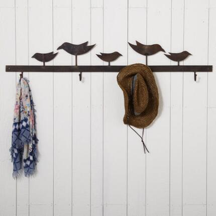 FOR THE BIRDS WALL RACK