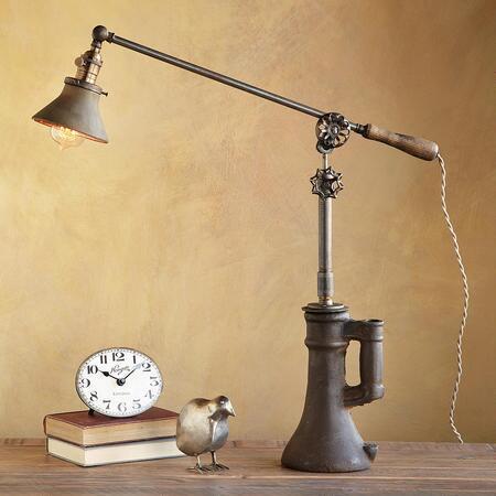 GOLD MERCURY SHADE LAMP