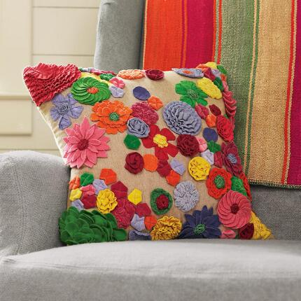 FLOWER FIESTA PILLOW
