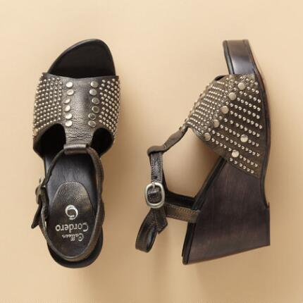 BESA WEDGE SANDALS