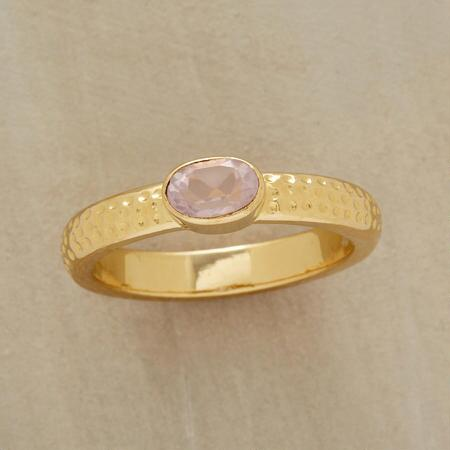 FIRST BLUSH RING