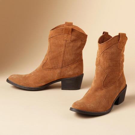 MADISON SUEDE BOOTS