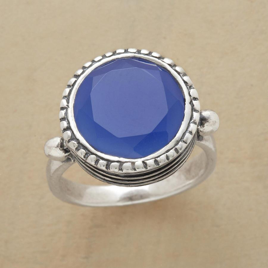 LOFTY BLUE RING