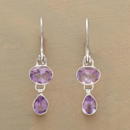 AMALIA AMETHYST EARRINGS