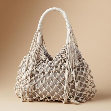Our chic knotted boho bag is unique, yet also utterly versatile.