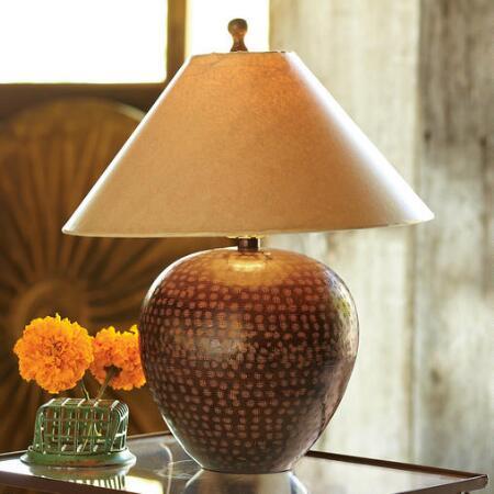 DAWSON HAMMERED LAMP