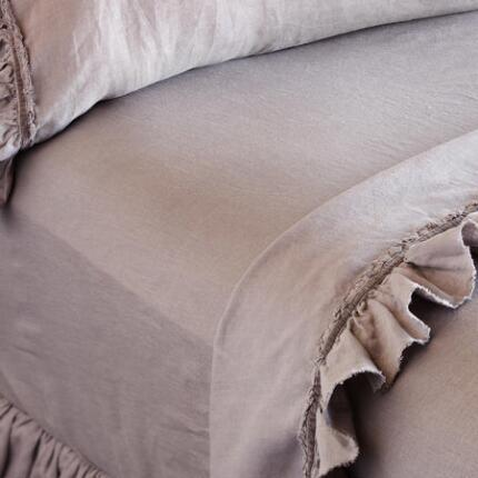 LINEN FITTED SHEET