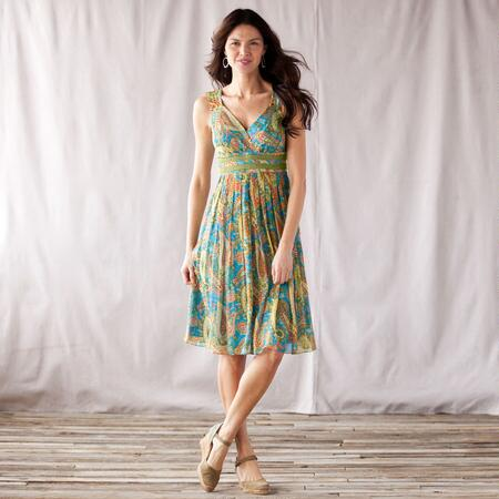 SEA OF DREAMS DRESS - PETITES