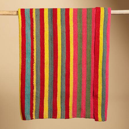 ONE OF A KIND BOLIVIAN LA PAZ THROW