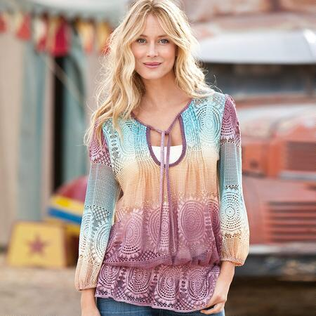 HORIZONS OMBRE TUNIC