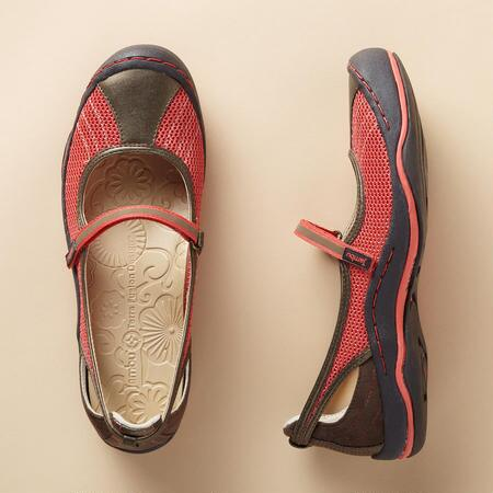 ECLIPSE MESH MARY JANES