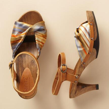 SUNSET TWIST SANDALS
