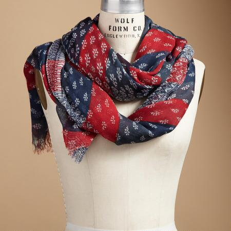 RED, WHITE & BLUE SCARF