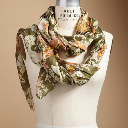 BUTTERFLY GROVE SCARF