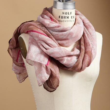 PALEST PAISLEY SCARF