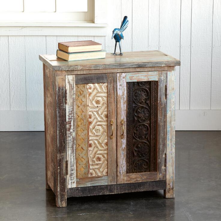 Carved Wood Block Cabinet Nightstands Amp Dressers