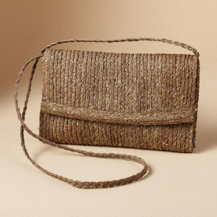 STRAW INTO GOLD CLUTCH