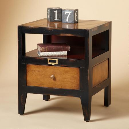 DRAPER SIDE TABLE