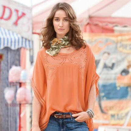 CLEMENTINE SILK BLOUSE