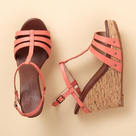 DIDIER WEDGE SANDALS