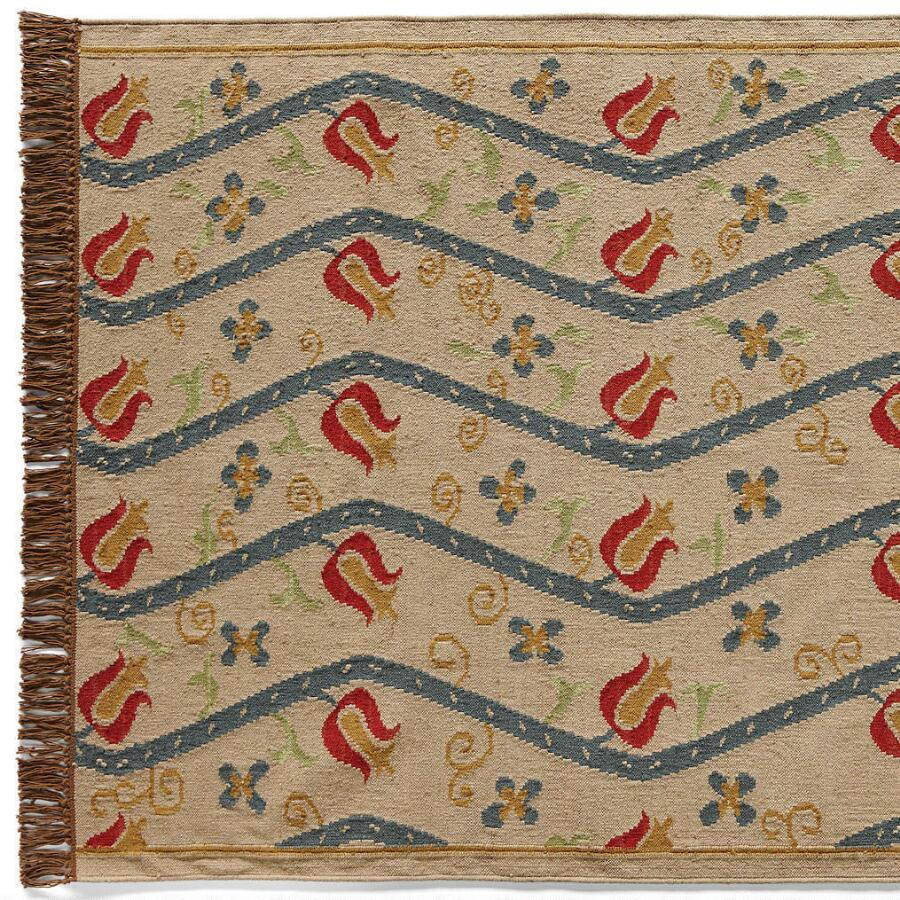 NEW AMSTERDAM DHURRIE RUG, LARGE