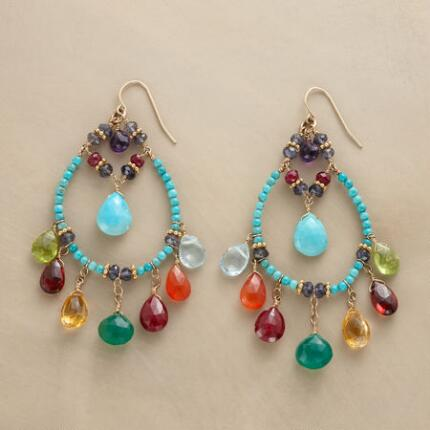 GEMSTONE MELANGE EARRINGS