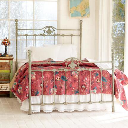 Our lightweight floral kantha quilt will make any room bloom with lovely color.