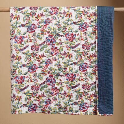 IKAT ROSE LIGHTWEIGHT QUILT