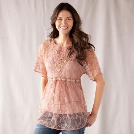 LOVELY LACY TUNIC
