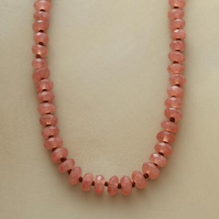 SPICED QUARTZ NECKLACE