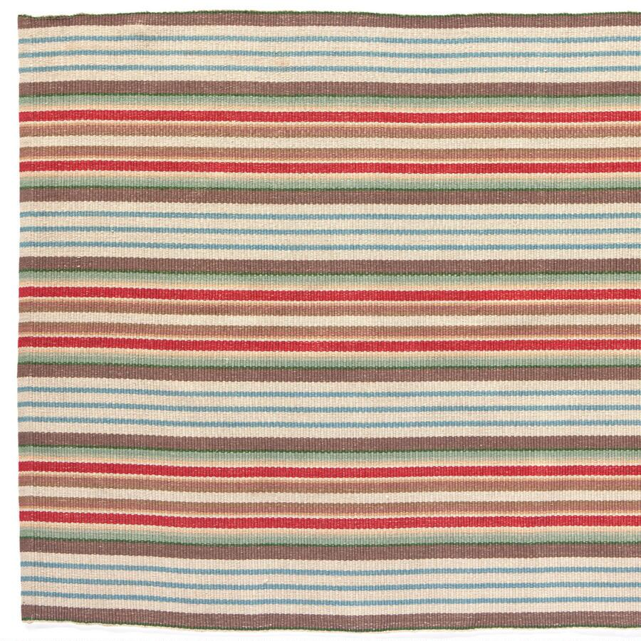 RANCH STRIPED COTTON MAT, LARGE