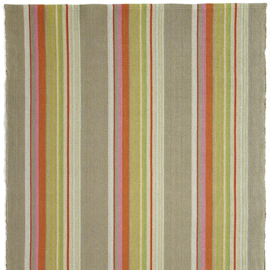 HADLERY STRIPES WOVEN RUG, LARGE