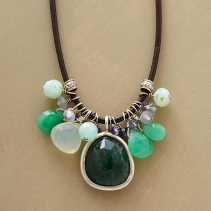 LEATHER AND LOVELIES NECKLACE