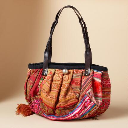 ONE-OF-A-KIND HILL TRIBE BAGS