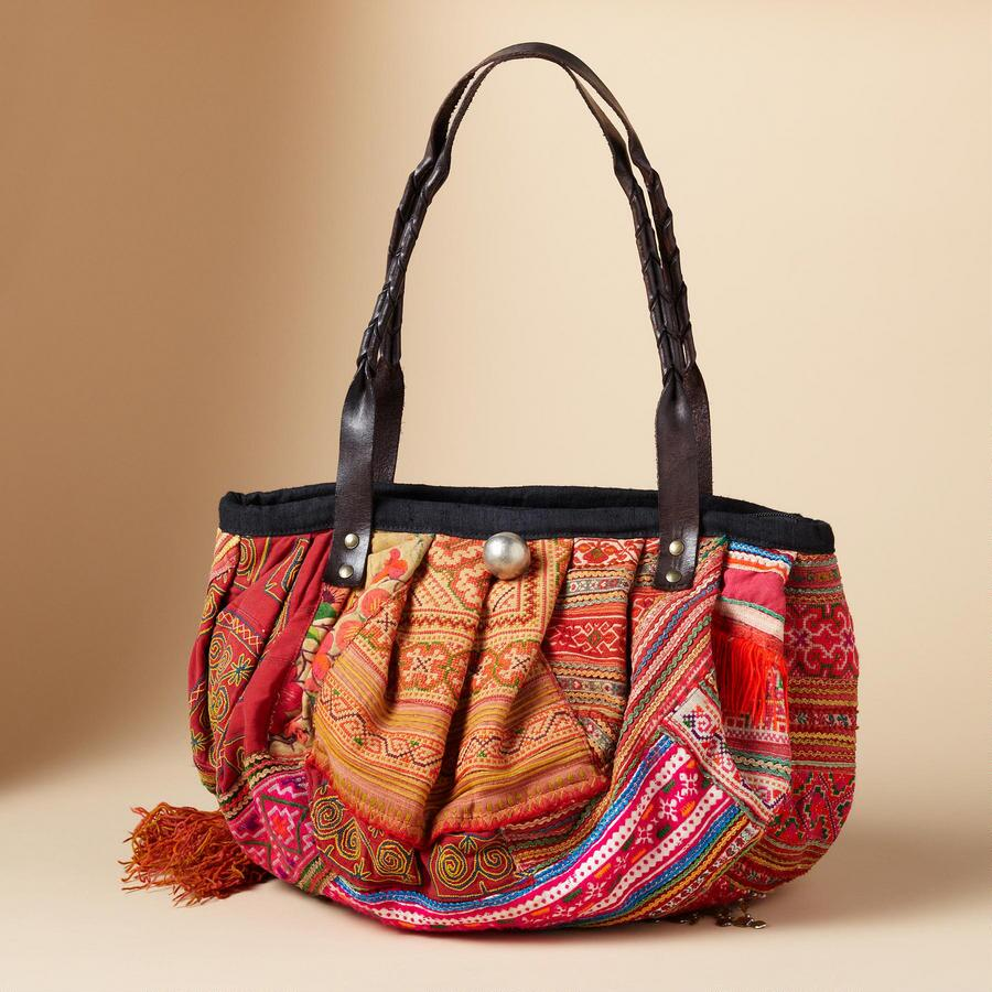 ONE-OF-KIND HILL TRIBE BAG