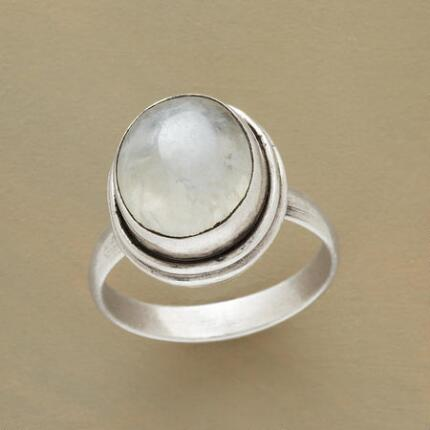 MOONSTONE MYSTERIES RING
