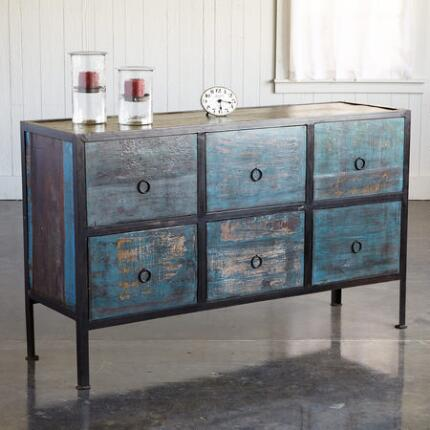 DEEPWATER 6-DRAWER CONSOLE