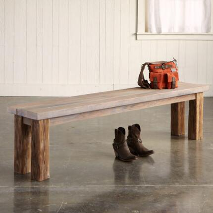 SALT & VINEGAR REDWOOD BENCH