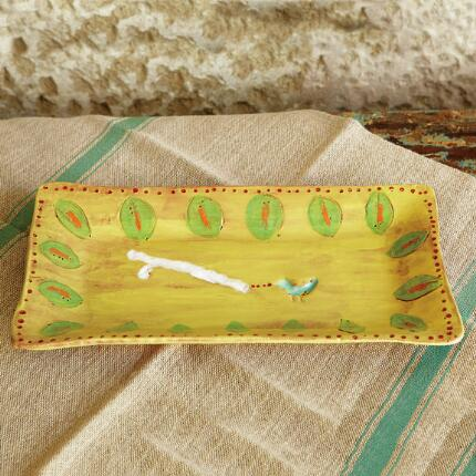 SONG BIRD CERAMIC TRAY