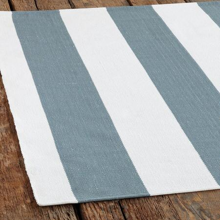 LAKESIDE STRIPE INDOOR/OUTDOOR MAT 8.5X11