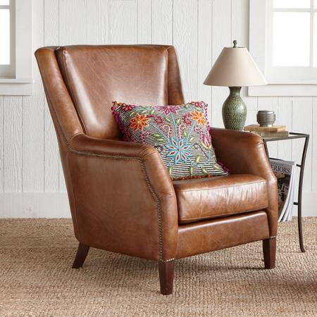 SOHO LEATHER CLUB CHAIR