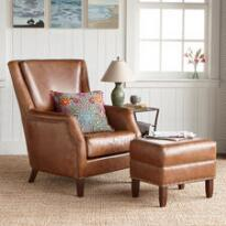 SOHO CHAIR & OTTOMAN SET