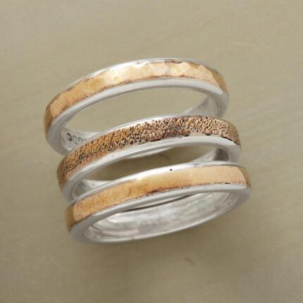 BRONZE RING TRIO