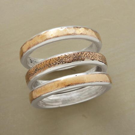 BRONZE RING TRIO S/3
