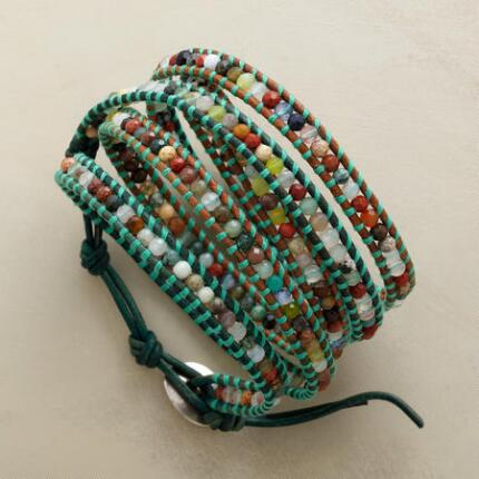 MANY GEMS 5 WRAP BRACELET
