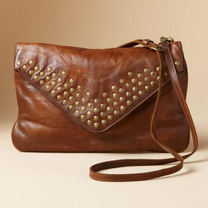 BROOKE ENVELOPE LEATHER BAG
