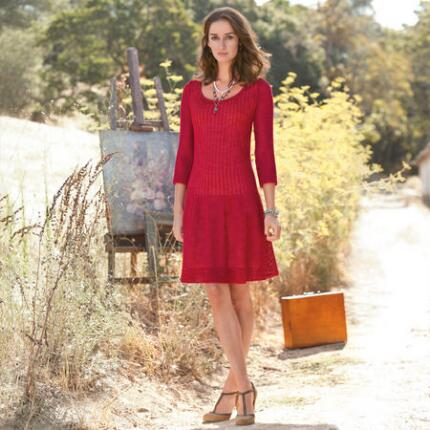 SASHAY SWEATER DRESS